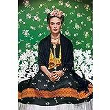 ZHONGYU 5D DIY Diamante Pintura Hecha a Mano Mosaico Muebles Kits de Regalo decoración del hogar-Frida Kahlo 40x50cm sin Marco (40 × 50CM)