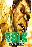 "Hulk: Feel the BANG; Notebook 6"" x 9""..."