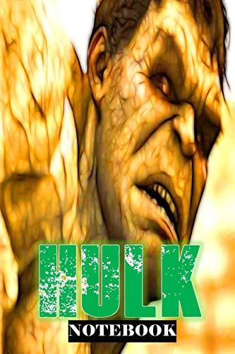 "Hulk: Feel the BANG; Notebook 6"" x 9"""