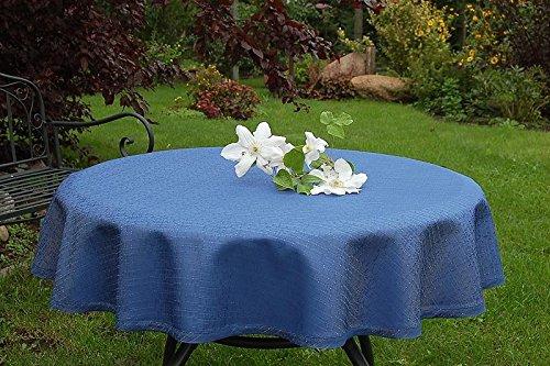 ODERTEX Abwaschbare Tischdecken 10x18 cm Muster, Material: 100{5326f16cce1f09043b62e014b9b77b81c03ca28c193f83de2814d4ce2ae77f9d} Polyester, Farbe: blau, Design: Rustikal