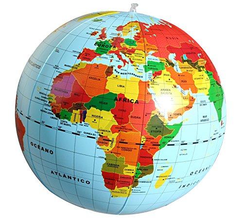 2. Bola del mundo hinchable