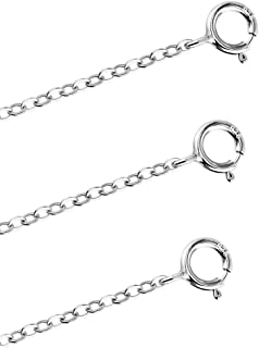 BT/_ 20 Pcs Silver Plated Bracelet Necklace Extenders Chain Jewelry Findings Sple