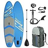 FBSPORT Tavola da Sup, 300×76×15 cm Sup Board, Stand Up Paddle Board...