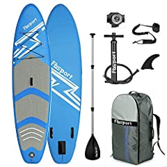 FAST SHIPPING: The item is ship from US, and through by UPS, FedEx or Amazon logistics. In general, we will handle the order within 10 working days, and deliver to customers within 3-9 working days. WIDE AND LIGHTWEIGHT SUP DESIGN - The FBSPORT stand...