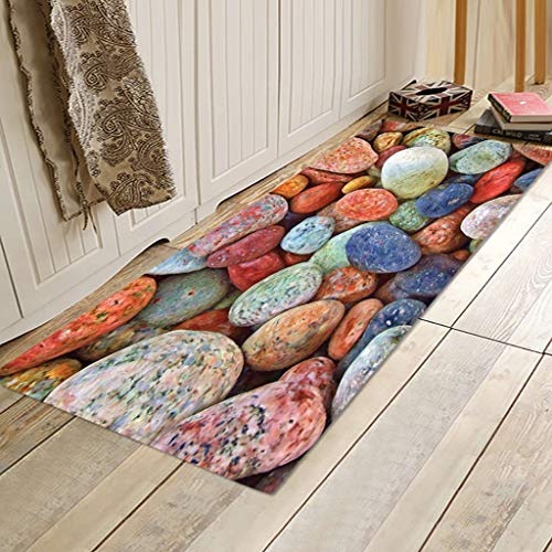 Bodenschutzmatte Wohnzimmer Teppiche Küchenteppich rutschfeste Teppiche für Schlafzimmer Abstract Design Multi Color