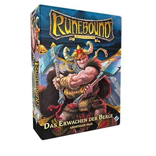 Fantasy Flight Games FFGD0146 Runebound-Das Erwachen der Berge