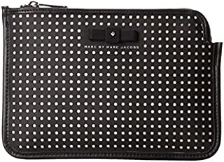 Marc by Marc Jacobs Perforated Mesh Mini Tablet Cutout Case Black Multi One Size