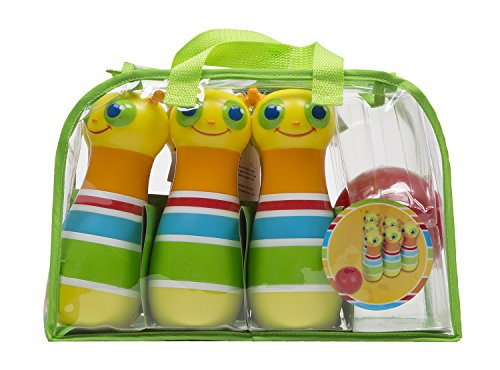 Fantastic Deal! Melissa & Doug Sunny Patch Giddy Buggy Bowling Action Game - 6 Bug Pins, 1 Plastic B...