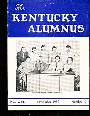 11/1950 The kentucky Alunus 1950 Wildcat football team bear bryant