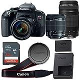 Canon EOS Rebel T7i 24.2 MP CMOS Digital SLR...