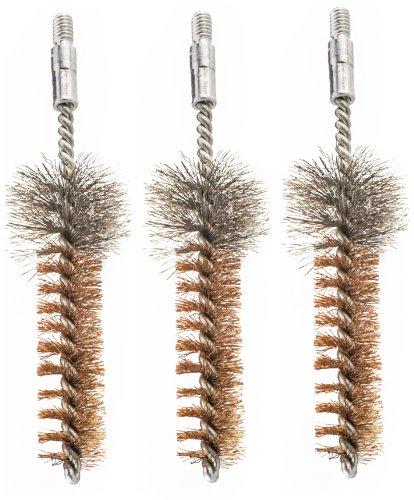Hoppe's Phosphor Bronze 5.56mm/.223cal AR Rifle Chamber Brush (Pack of 3)
