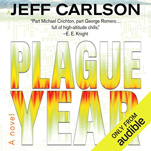 Plague Year audiobook cover art