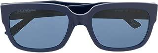 Luxury Fashion | Balenciaga Mens BB0049S004 Blue Sunglasses | Fall Winter 19