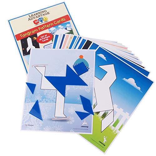 Learning Advantage Tangrams and Pattern Cards