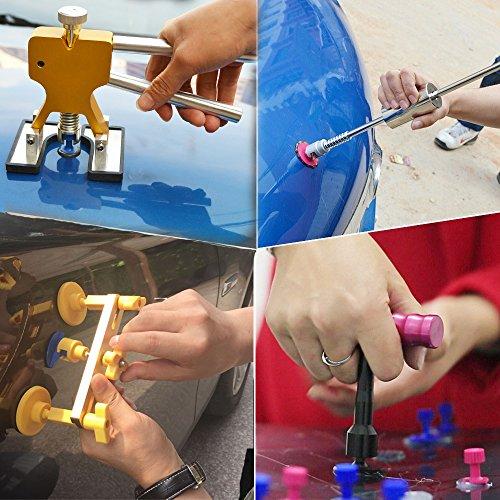 DIY Paintless Dent Puller Repair Kit