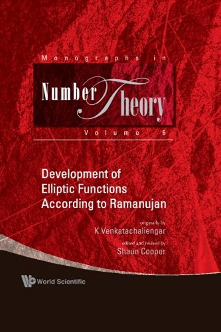 織機カーフクローンDevelopment Of Elliptic Functions According To Ramanujan