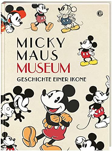 Disney Micky Maus Museum: Die Geschichte einer Ikone | Großformatiges Hardcover - ideal als Geschenk oder für die eigene Sammlung