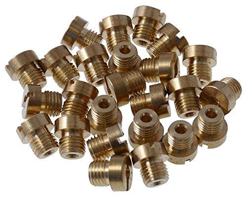 Düsenset (25Stk) 2EXTREME für DELLORTO M6 / 6mm 55-115