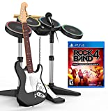 Rock Band 4 + Guitarra Wireless + Batería Wireless + Micrófono