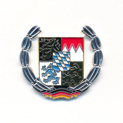 hegibaer Freistaat Bayern Wappen Deutschland Flagge Metall Badge Pin Anstecker 0909