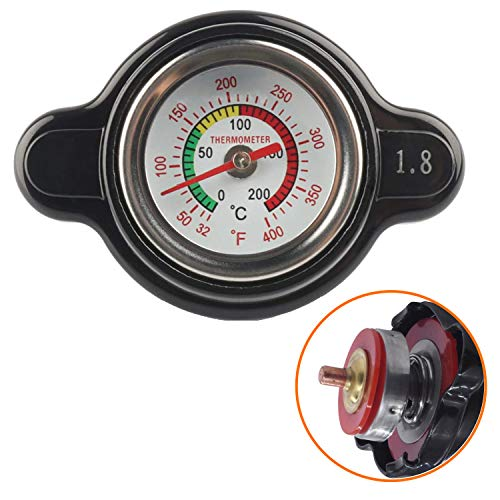 High-Pressure Radiator Cap with Thermometer...