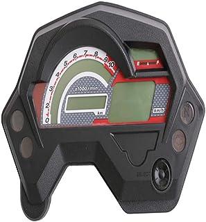 Zwbfu Odômetro da motocicleta Velocidade Medidor de Combustível 14000 RPM Universal para Yamaha FZ16, LCD Instrumento de M...