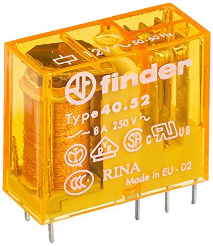 Finder 40.52.8.012.0000 Steck/Printrelais 12 V AC 2 W 8 A