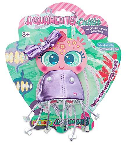 Distroller Neonate Nerlie Aquamerito Ropa - Púrpura Brillante Medusa Reversible con Arco - México KSI-Merito Glu Glu