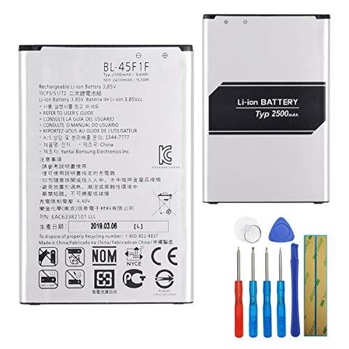 E-yiiviil BL-45F1F - Batería de repuesto compatible con LG Aristo MS210 K10 Pro 2017, K8 2017, Versión K8 Phoenix 3 con herramientas