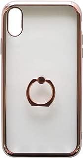 エアージェイ iPhone XS 対応 iPhoneXS 5.8インチモデル ケース カバー 耐衝撃 回転式スマホリング付 MRケース スマホリング付 バンカーリング付 耐衝撃ケース【PK】 AC-P18S-MR PK
