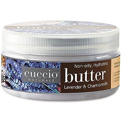 Cuccio Lavender and Chamomile Body Butter, 8 Ounce