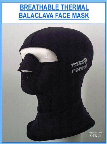 Proline Unisex-Gesichtsmaske. M Schwarz