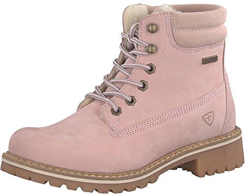 Tamaris Damenschuhe 1-1-26244-29 Damen Stiefel, Boots, Damen Stiefeletten, Herbstschuhe & Winterschuhe für modebewusste Frau rosa (LT.PINK NUBUC), EU 40