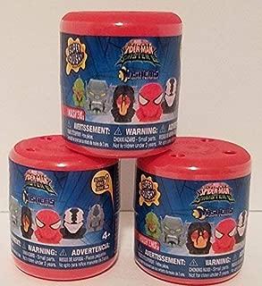 Spiderman vs Sinister Six SERIES 2 Licensed Mashems Blind packs - 3 pack by T4K