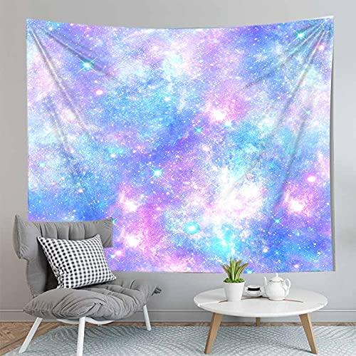 PPOU Galaxy psichedelico arazzo appeso a parete galassia spazio Modello decorazione Della parete Della casa arazzo coperta sfondo panno A8 150x200 cm