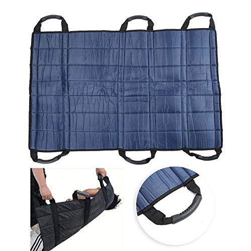 Zyyini Positioning Bed Pad,Reusable and Washable Patient Turning Device with Handles for Transfer, Lifting and Repositioning