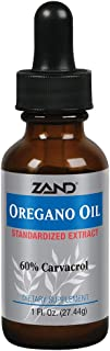 Zand Oregano Oil Immune Support Formula | Standardized to Contain 60% Carvacrol | Topical & Internal Use, 1oz, 274 Servings