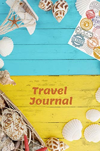 Travel Journal: 6 x9  Ruled Lined Notebook, Blank Notebook For Taking Notes (Life Is Good)