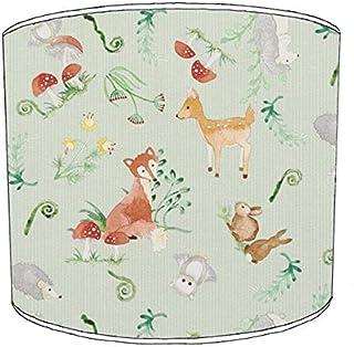 Premier Lighting Ltd 12 inch Enchanted forêt thème Print Abat-Jour 11 pour Un plafonnier