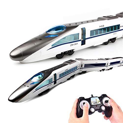 XIAOKEKE RC Tren Eléctrico De Juguete De 2,4 GHz De Tren De...