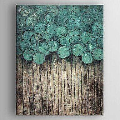 Piteng? pittura a olio moderna mano pittura astratta tela dipinta con tesa incorniciato
