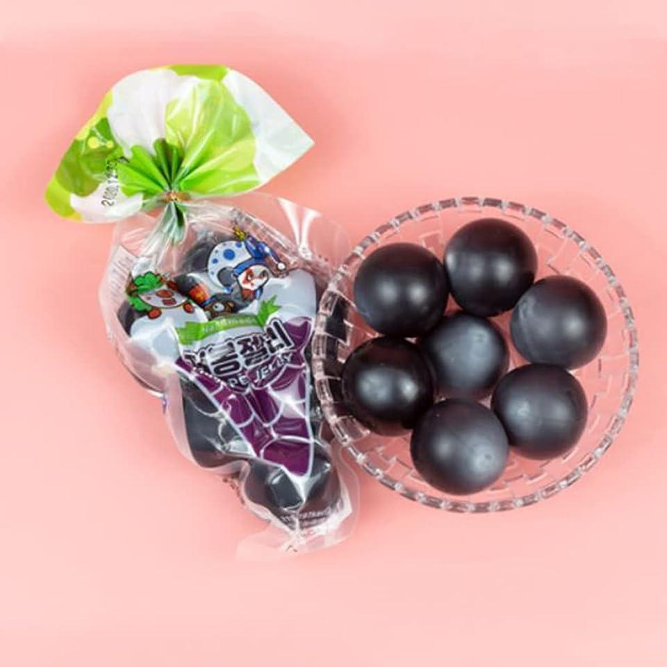 Kyoho Jelly balls Fruity Snack Tik Tok Challenge Hit or Miss - Gummy Desert Fruit-Shaped kyohyo ball Japanese style Jelly Candy