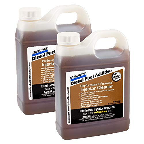 Amazon.com: Stanadyne Diesel Injector Cleaner | 2 Pack of 32oz jugs | Stanadyne # 43566: Automotive