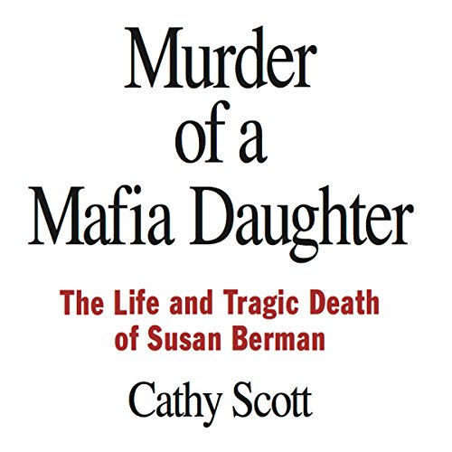 Murder of a Mafia Daughter audiobook cover art