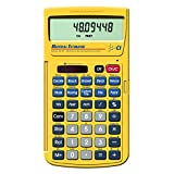 Calculated Industries 4019 Material Estimator Calculator | Finds Project Building Material Costs for DIY's, Contractors, Tradesmen, Handymen and Construction Estimating Professionals (Renewed),Yellow