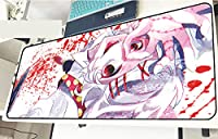 東京喰種 Tokyo Ghoul 东京食尸鬼 鼠标垫 大型 电脑 周边机器(900x400x3毫米)-B_800*300*3MM