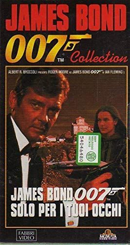 James Bond 007 Collection VHS Solo per i tuoi occhi