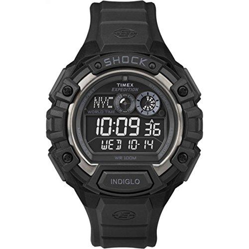 Timex Expedition Shock T49970 - Reloj de Cuarzo para Hombres, Color Negro