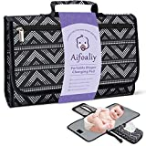 Portable Diaper Changing Pad for Baby, Reusable Changing Mat with Wipes Pocket for Travel- Baby Shower Gifts, Ideal Foldable Waterproof Changing Pad Cover for Newborn Baby, Infant, Child, Toddler.