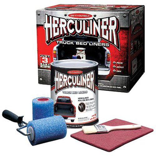 Our #1 Pick is the Herculiner HCL1B8 Brush-on Bed Liner